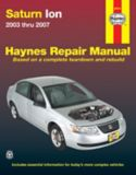 Manuel de réparation Haynes, Saturn ION, 87011, 2003-2007 | Haynesnull