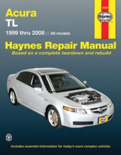 Haynes Repair Manual, Acura TL