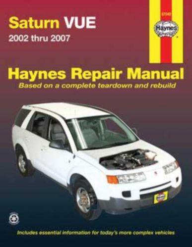 Manuel automobile Haynes Saturn Vue