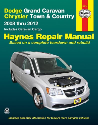 Haynes Repair Manual, Dodge Grand Caravan, Chrysler Town and Country, 2008-2012