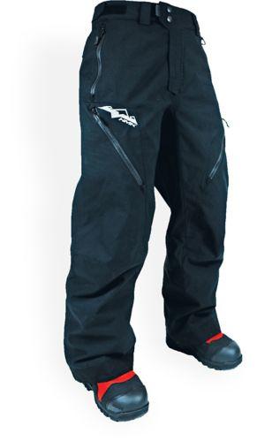 Pantalon de neige HMK Hustler, noir