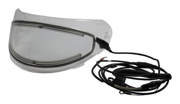 Fulmer Electric Lens Shield for Cruz Powersport Helmet, Clear