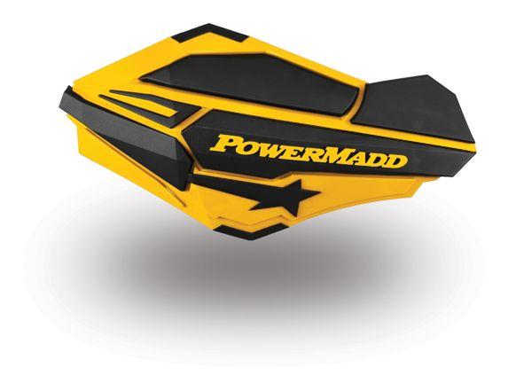 PowerMadd Sentinel Handguards, Ski-Doo Yellow Product image