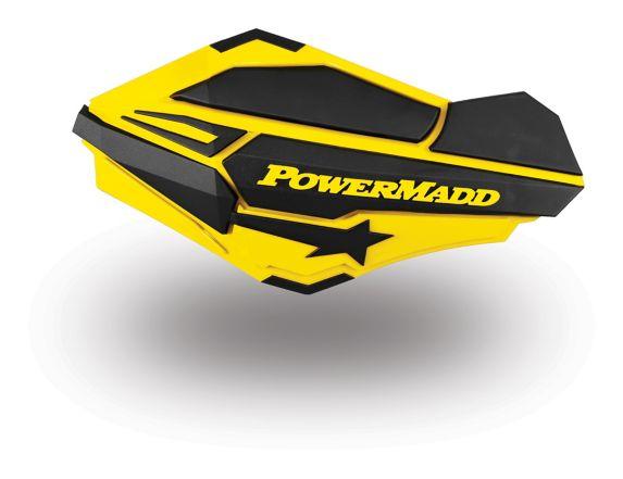 PowerMadd Sentinel Handguards, Suzuki Yellow
