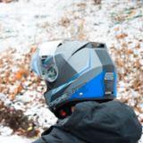 Origine Aerion ModularSnowmobile Helmet, Blue   Originenull
