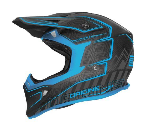 Casque Origine Exio Sportscross, bleu