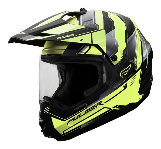 Casque Fulmer Static, jaune