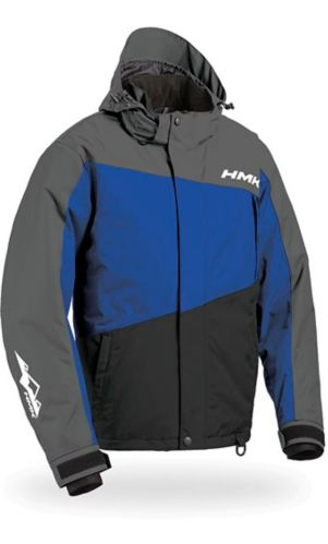 Manteau de motoneige avec système de flottaison HMK Glacier, bleu