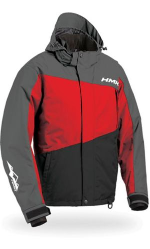 HMK Glacier Float Assist Snowmobile Jacket, Red