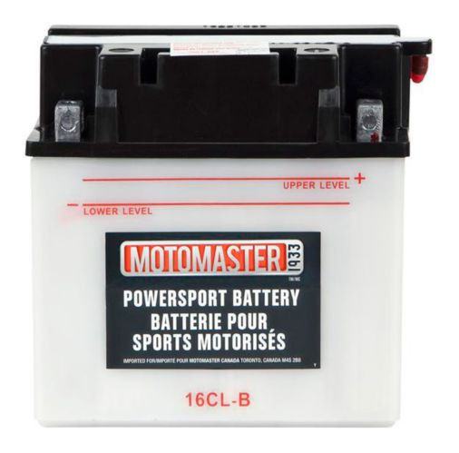 Batterie MOTOMASTER pour véhicules de sports motorisés, 16CL-B