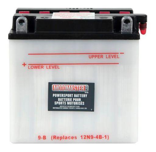 MOTOMASTER Powersports Battery, 9-B