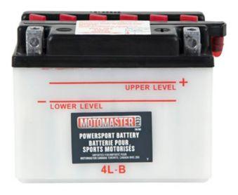 MotoMaster Powersports Battery, 4L-B