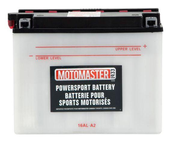 Batterie MOTOMASTER pour véhicules de sports motorisés, 16AL-A2