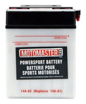 MotoMaster Powersports Battery, 14A-A2 | Canadian Tire