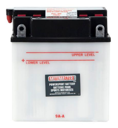 MOTOMASTER Powersports Battery, 9A-A