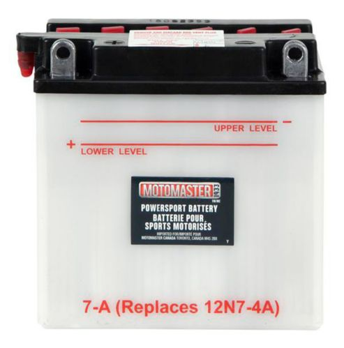 MOTOMASTER Powersports Battery, 7-A