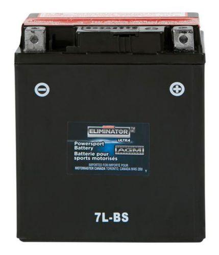 Batterie MOTOMASTER ELIMINATOR AGM pour véhicules de sports motorisés, 7L-BS