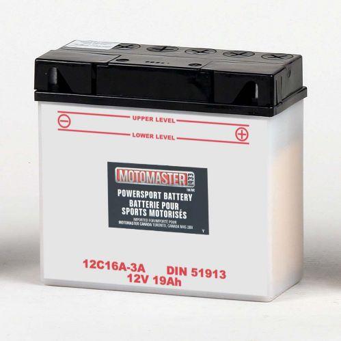 MOTOMASTER Powersports Battery, 51913