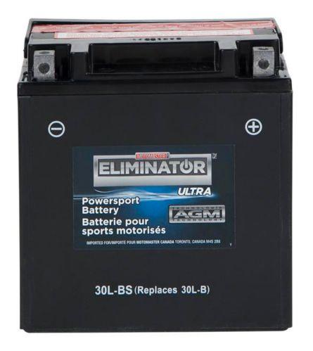 Batterie MOTOMASTER ELIMINATOR AGM pour véhicules de sports motorisés, 30L-BS