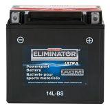 Batterie MotoMaster Eliminator Ultra AGM, sport motorisé, 14L-BS | MotoMaster Eliminatornull