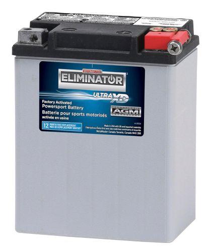 Batterie MOTOMASTER ELIMINATOR AGM activée en usine pour véhicules de sports motorisés, ETX15L