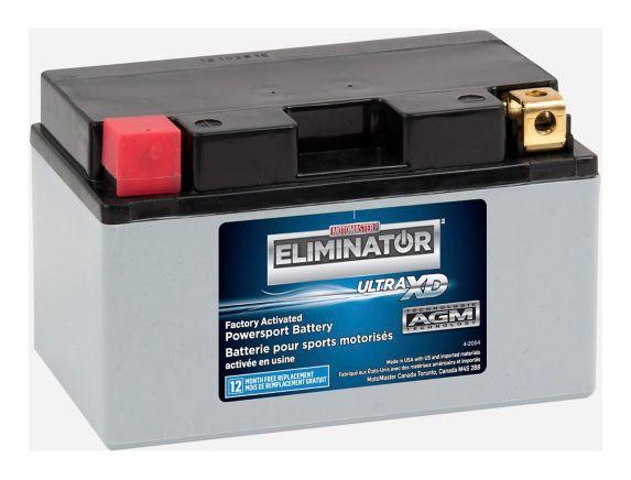 Batterie MOTOMASTER ELIMINATOR AGM activée en usine pour véhicules de sports motorisés, ETZ10S