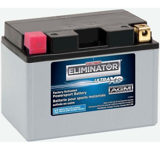 Batterie MOTOMASTER ELIMINATOR AGM activée en usine pour véhicules de sports motorisés, ETZ14S