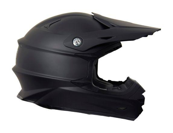 Raider Elite Euphoria MX Helmet, Matte Black