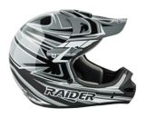 Casque de motocross Raider Rush MX, adultes, noir/gris | Raider Powersports | Canadian Tire
