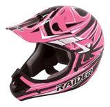 Raider Rush MX Helmet, Youth, Black/Pink | Raider Powersports | Canadian Tire