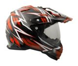 Raider Elite Dual Sport Eclipse Helmet, Orange/Black | Raider Powersports | Canadian Tire