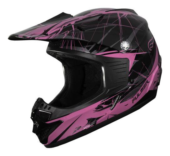 Fulmer Blitz MX Helmet, Youth, Pink