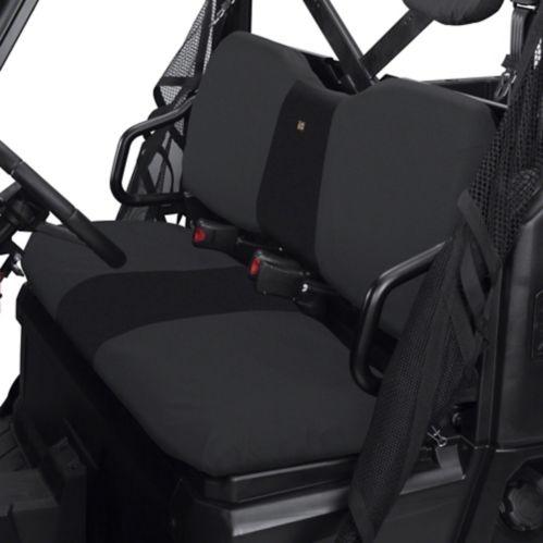 Classic Accessories UTV Bench Seat Cover, Polaris Ranger, Black
