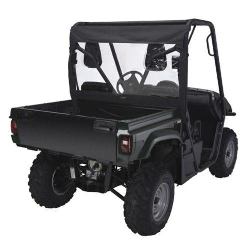 Classic Accessories UTV Rear Windshield, Yamaha Rhino, Black
