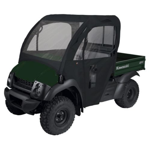 Classic Accessories UTV Cabin Enclosure, Kawasaki Mule 600 610, Black