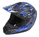 Raider Wildfire MX Helmet, Blue/Black | Raider Powersports | Canadian Tire
