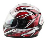 Raider Octane Full Face Snow Helmet, Red | Raider Powersports | Canadian Tire