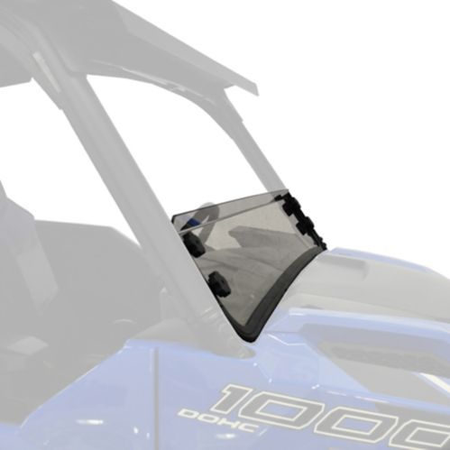 Kolpin Hard Coated Half Fixed Windshield, Polaris Ranger