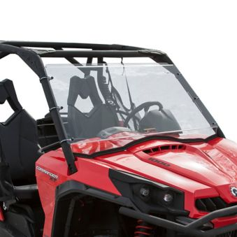 Kolpin Uncoated Full Fixed Windshield, Can-Am Commander