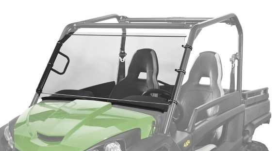 Kolpin Hard Coated Full Fixed Windshield, John Deer RSX850i