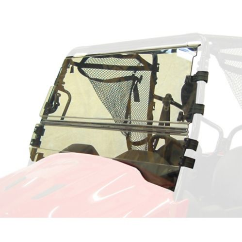 Pare-brise inclinable enduit Kolpin, Honda Big Red