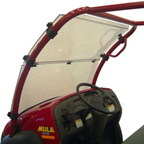 Kolpin Hard Coated Full Tilt Windshield, Kawasaki Mule600/610