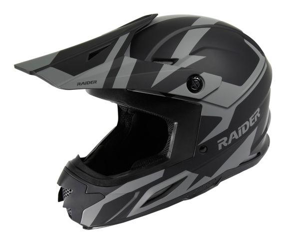 Raider Z7 Helmet, Silver