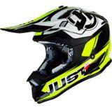 Just1 Pro Rave Off-Road Dirt Bike MX Helmet, Neon Yellow | Just1 Racingnull