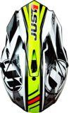Casque pour moto tout-terrain et motocross Just1 Pro Rave, jaune fluo | Just1 Racing | Canadian Tire