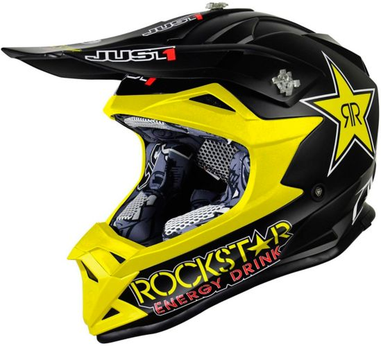 Just1 Youth Rockstar Off-Road Dirt Bike MX Helmet