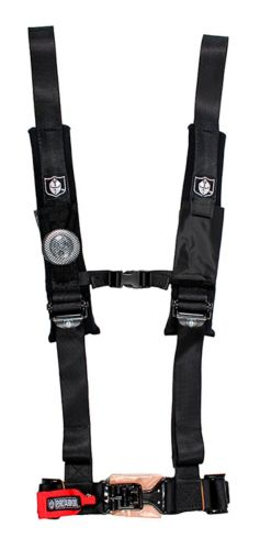 Pro Armor UTV 4-Point Harness with Sewn in Pads, 2-in