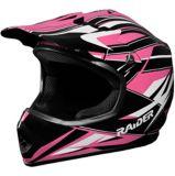 Raider GX3 Youth MX Helmet, Pink | Raider Powersports | Canadian Tire
