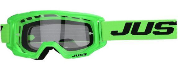Just1 Vitro Powersports Goggles, Fluorescent Green
