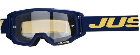 Just1 Vitro Powersports Goggles, Blue/Yellow Product image